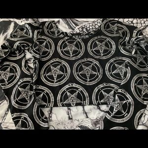 Killstar crop top